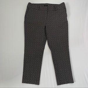 LOFT Julie Skinny Stretch Cropped Pants Pattern 14